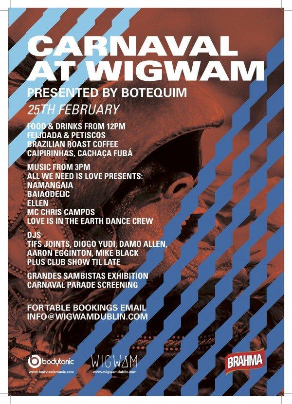 Wigwam Carnaval Poster A3